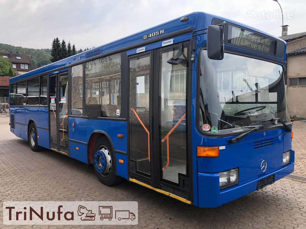 MERCEDES-BENZ O 405 N K F   Länge: 10,5 m   Höhe 2,71 m   Euro 4   Stadtbus