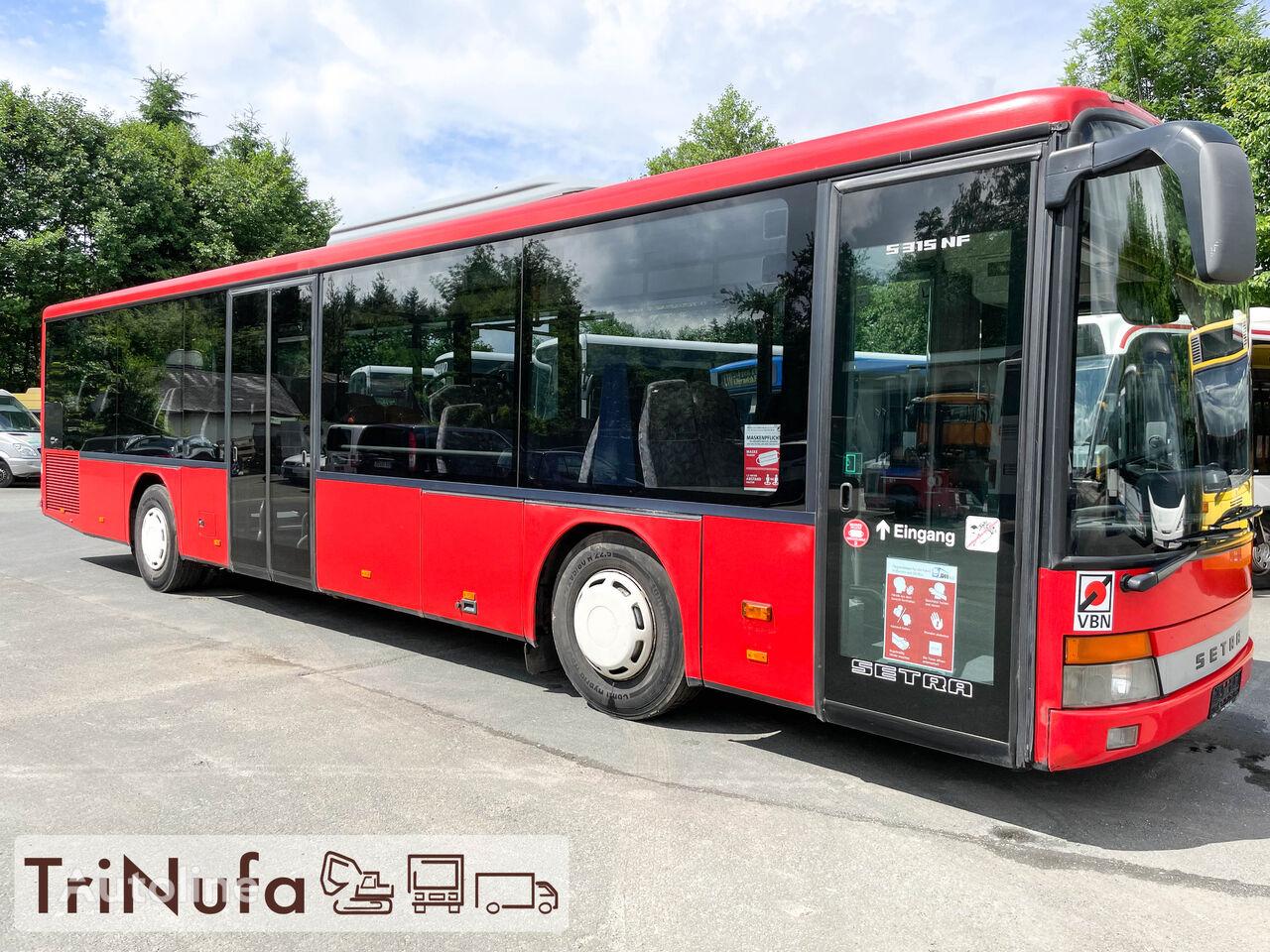 SETRA S 315 NF   Klima   Euro 3   299 PS   47 Sitze    Stadtbus