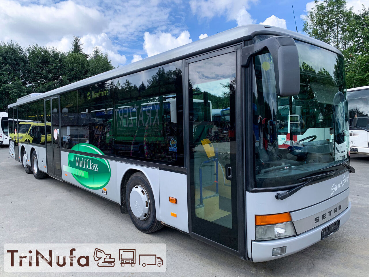 SETRA S 319 NF | Retarder | Klima | 3 Türen | Stadtbus