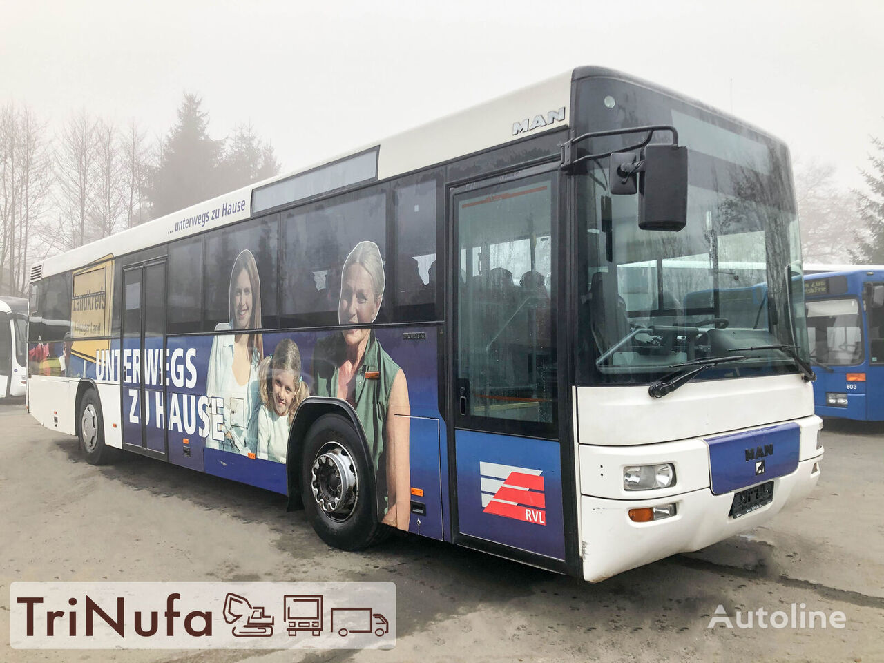 MAN A 72 | Euro 3 | TÜV 11 / 2021 |  Überlandbus